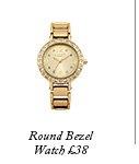 Round Bezel Watch