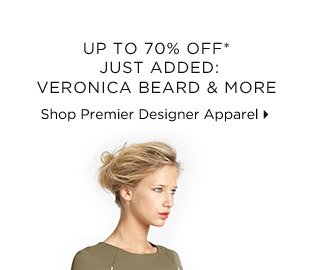 Up To 70% Off* Just Added: Veronica Beard & More