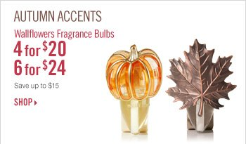 Wallflowers Fragrance Bulbs – 4 for $20