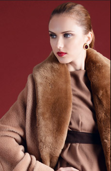Jean Paul Gaultier Femme Genuine Fur Coat