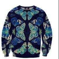 Mr. Gugu & Miss Go Butterflies Print Sweater