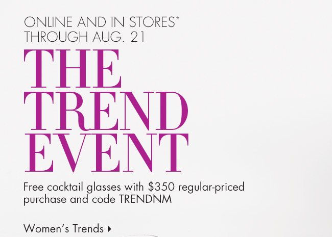 Trend Event