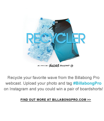 Win a pair of boardshorts - find out more at Billaongpro.com