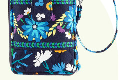 Carry It All Wristlet in Midnight Blues