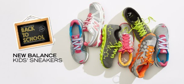 NEW BALANCE: KIDS' SNEAKERS, Event Ends August 17, 4:00 PM PT >