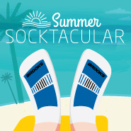 Summer Socktacular - buy a pair of shoes, get a pair of socks