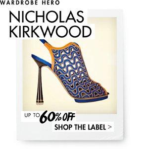 NICHOLAS KIRKWOOD UP TO 60% OFF