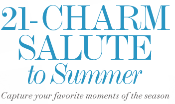 A 21-Charm Salute To Summer - Capture your favorite moments of the season