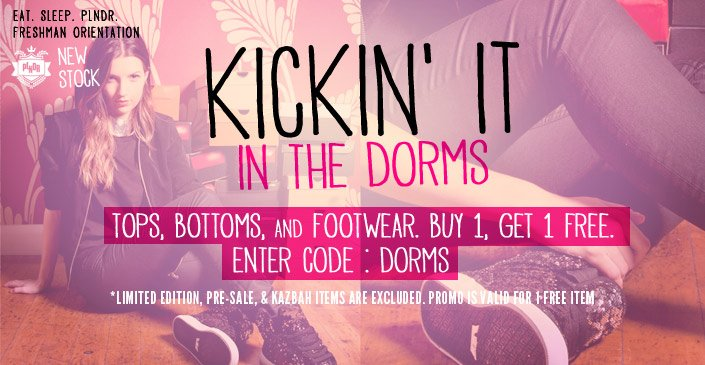Tops, Botttoms & Footwear: Buy 1, Get 1 Free