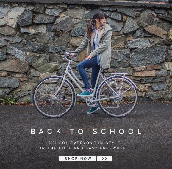 Back to School - School everyone in style in the cute and easy Freewheel - Shop Now