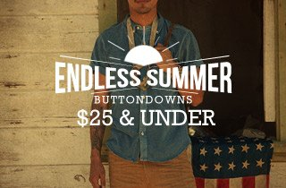 Buttondowns $25 & Under