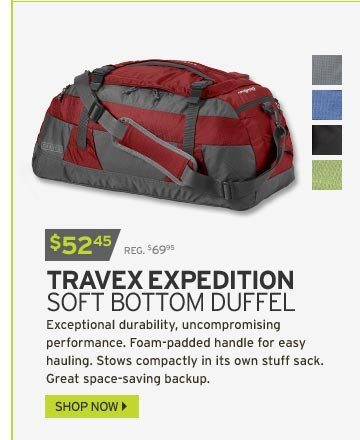 Travex® Expedition Medium Soft Bottom Duffel