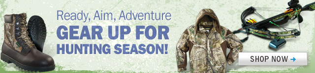 Gear Up For Hunting