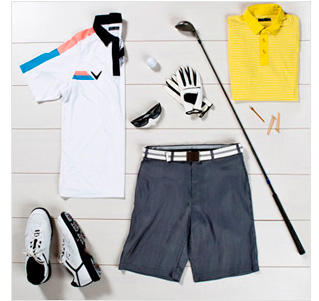 Fore! Men's Golf Style & Clubs