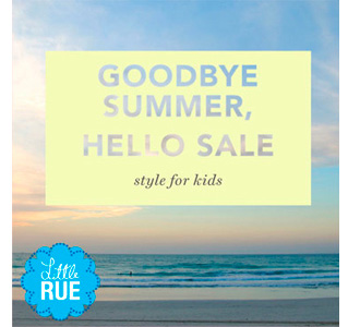 Goodbye Summer, Hello Sale: