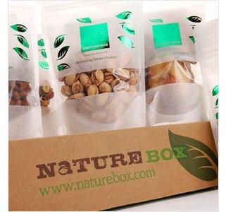 NatureBox. Healthful snacks, delivered.