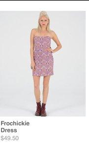Frochickie Dress