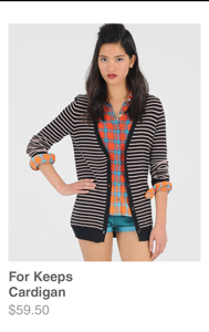 For Keeps Cardigan