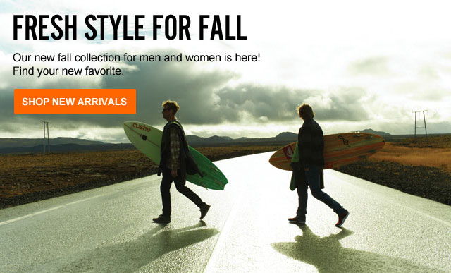 Fresh Style for Fall Shop New Arrivals