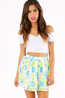 DAISY CRAZED SEQUIN SKIRT 33