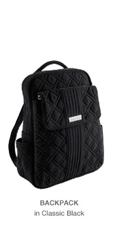 Backpack in Classic Black