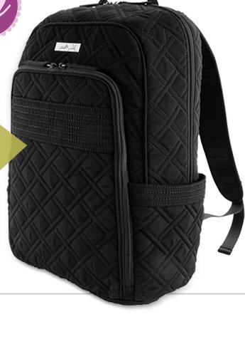 Laptop Backpack in Classic Black