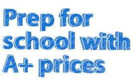 Shop all back to school