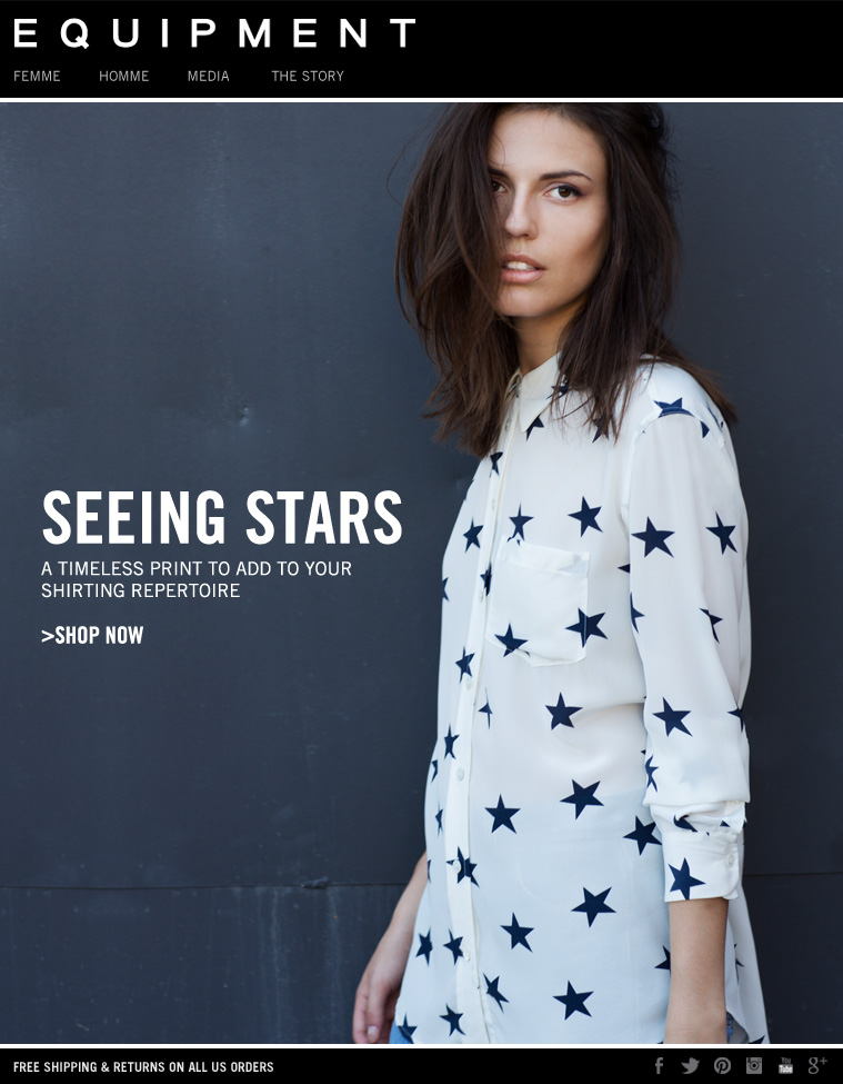 REESE NATURE WHITE STAR PRINT