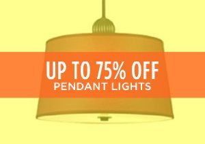 Up to 75% Off: Pendant Lights