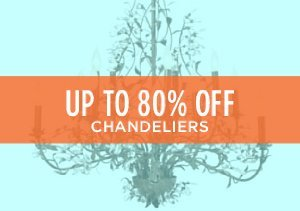 Up to 80% Off: Chandeliers