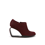 Step Möbius Ankle Bootie | Bordeaux