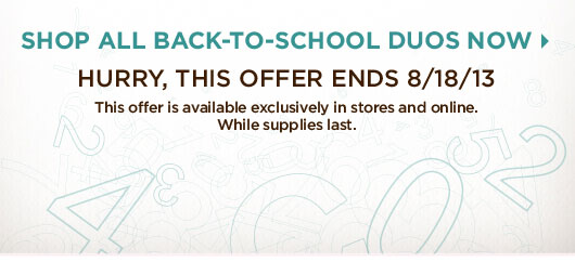 Hurry This Offer Ends 8.18.13