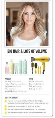 Big Hair & Lots of Volume Pin It