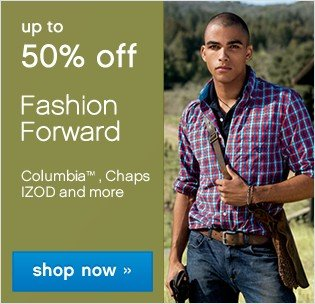 Up to 50% off Fashion Forward. Shop now.