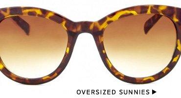 Shop Oversized Sunnies