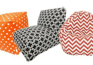 Colorful Comfort: Beanbags & Pillows