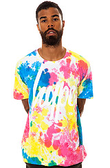The Tie Dye Splat Tee in Multi