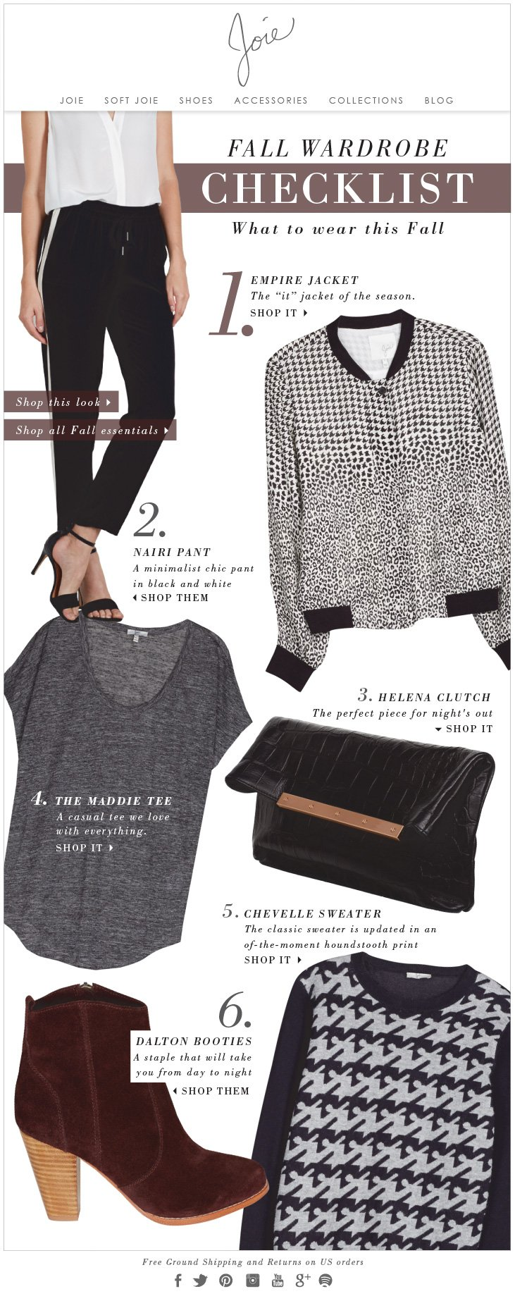 Joie - Fall Must-Haves