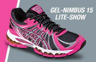 Shop Womens GEL-Nimbus 15 Lite-Show - Promo C