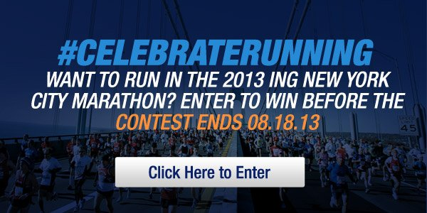Enter to Run in the 2013 ING New York City Marathon™ - Hero