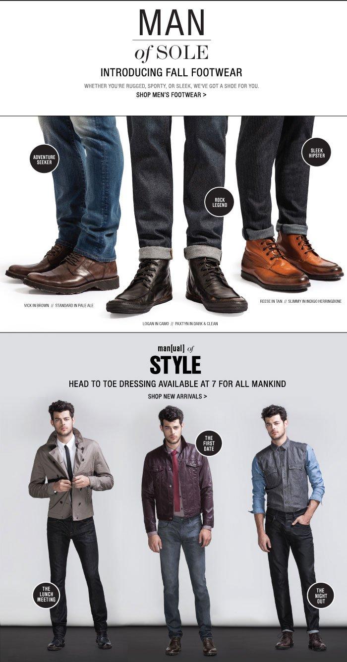 Introducing Men's Shoes!