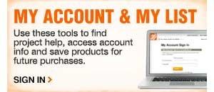 My Account & My List