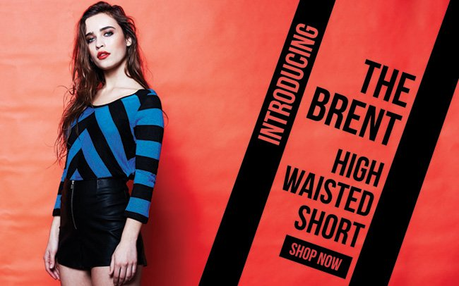 The Brent High Waisted Short