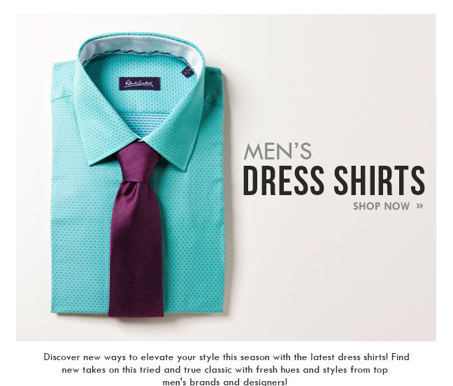Shop Men's Dress Shirts