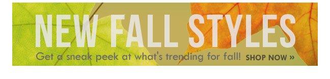 Shop Fall Styles