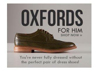 Shop Men's Oxfords