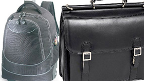 Back To Campus: Briefcases & Backpacks