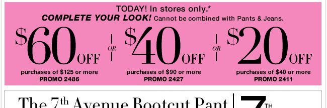 Save in-store with your NEW coupon!