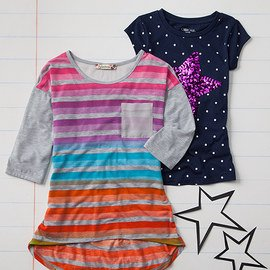 A+ Picks: Girls' Tops & Tees