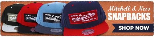 Shop Mitchell and Ness Snapbacks